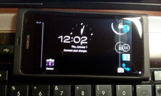 Nokia N9 with Android 4.0